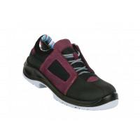Chaussures de sécurité ultra légères AIR LACE LADY AUBERGINE GASTON MILLE - AFBA1