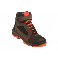 Chaussures de sécurité sans métal Air Top Orange S1P SRC ESD GASTON MILLE -AHHO1