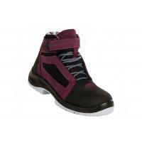 Chaussures de sécurité femmes Air Top Lady Aubergine S1P SRC ESD GASTON MILLE -AFHA1