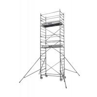 Echafaudages roulants DUARIB Aluminium ALTITUDE ALU 200 HAUTEUR PLANCHER 5.90 m/PLANCHER ALU/BOIS PLINTHES INTEGREES-500816