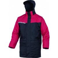 Parka 2 EN 1 polyester enduit pvc noir / rouge DELTA PLUS- ALAS2RO0