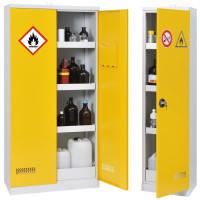 Armoire de sécurité CYLTEC pour produits inflammables - ASNIHLEA