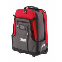 SAC A DOS TEXTILE SAM OUTILLAGE 40L AVEC TROLLEY - BAG5NZ