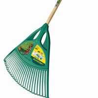 Balai à gazon manche frêne XL FISKARS LEBORGNE - 369711 (Outils de jardin à main)