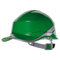 DELTA PLUS-CASQUE DE CHANTIER FORME CASQUETTE BASEBALL-DIAM5VEFL-Vert