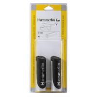 Paire de poignée Haemmerlin bi-matières Ø 32 mm - 309002106