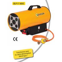 Chauffage Sovelor air pulsé portable au gaz propane avec batterie - BLP17MDC
