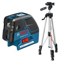 BOSCH OUTILLAGE -Laser points GCL 25 Professional + trépied BS150 - 06066B01