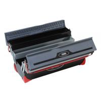 SAM OUTILLAGE- Caisse à outils bi-matière 5 cases - BOX-1Z
