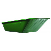 Caisse Haemmerlin Peinte Verte 6 trous 90 L pour Brouettes Aktiv Premium - 309007201