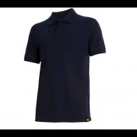 Polo bleu piqué manches courtes en coton ATLAR II diadora - 160299600620