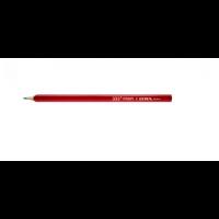 Crayon de charpentier taillé rouge 24 cm en étui de 12 LYRA - 4332111