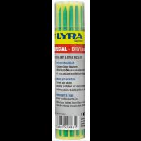 Etui 12 de Mines de Rechange vert LYRA DRY Spécial résistant à l'eau pour marqueurs LYRA-DRY et LYRA PICA DRY -4490067