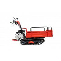 IMER-Transporteur à chenilles caoutchouc 400 kg avec caisse à ridelles - CC441T