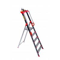 Escabeaux Aluminium Pro'UP CENTAURE 7 marches serties -239207