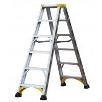 Marchepieds ALPHA CENTAURE aluminium double accès 2x6 marches - 451606