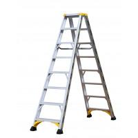 Marchepieds ALPHA CENTAURE aluminium double accès 2x6 marches - 451608