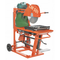 Scie de maçon Electrique Norton Clipper CM501 5.55.3  Ø 500 mm 400V Longueur de coupe 245mm -70184628232