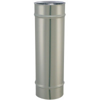 SOVELOR-CONDUIT DE FUMEE Ø 153 MM DOUBLE PAROI INOX/INOX