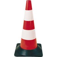 SOFOP TALIAPLAST - Cone plastique avec pied caoutchouc hauteur 50 cm - 520601