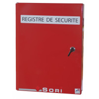 COFFRET POUR REGISTRE DE SECURITE SORI -COREG