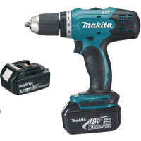 Perceuse visseuse DDF453SFE MAKITA  18 V Li-Ion 3 Ah Ø 13 mm + 2 batteries-DDF453SFE
