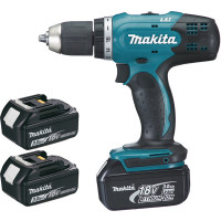 Perceuse visseuse MAKITA  18 V Li-Ion 3 Ah Ø 13 mm + 3 batteries -DDF453SFE3