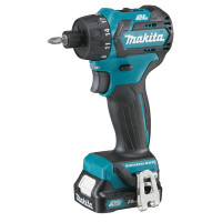 Perceuse visseuse MAKITA 10,8 V Li-Ion 2 Ah COMPACT BRUSHLESS CXT-DF032DSAE