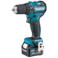 Perceuse visseuse MAKITA 10,8 V Li-Ion 4 Ah COMPACT BRUSHLESS CXT Ø 10 mm - DF332DSMJ
