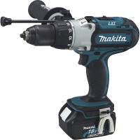 Perceuse visseuse à percussion 18 V Li-Ion 4 Ah Ø 13 mm MAKITA - DHP451RMJ