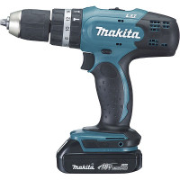 Perceuse visseuse à percussion MAKITA Ø 13 mm 18 V LXT - DHP453RYJ