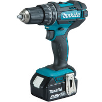 Perceuse visseuse à percussion 18 V Li-Ion 4 Ah Ø 13 mm MAKITA - DHP482RMJ
