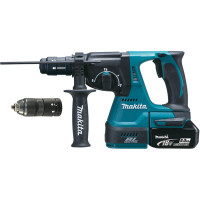 Perfo-burineur SDS-Plus MAKITA 18 V Li-Ion 5 Ah 24 mm en coffret MAK-PAC- DHR243RTJ