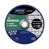 Disque de tronconnage Norton Expert Ø 115 Epaisseur 3.2 pour meuleuse d'angle pour matériaux -66252828496