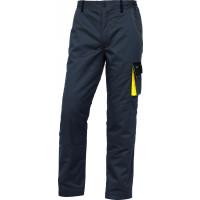 Pantalon de travail chaud Doublé pour hiver D-MACH Gris / Jaune DELTA PLUS - DMACHPAWGJ0