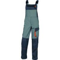 DELTA PLUS- SALOPETTE DE TRAVAIL D-MACH EN POLYESTER COTON Gris / Orange - DMSALGO0