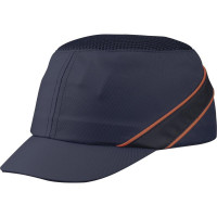 CASQUETTE ANTI-HEURT TYPE BASE-BALL AIR COLTAN BLEU VISIERE 5CM DELTA PLUS -COLTAAIBMSH