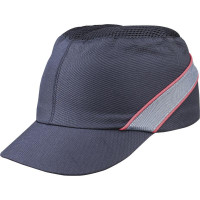CASQUETTE ANTI-HEURT TYPE BASE-BALL AIR COLTAN NOIR VISIERE 5CM DELTA PLUS -COLTAAINOSH