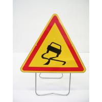 Panneau de signalisation NADIA SIGNALISATION AK4 chaussée glissante 1000m - 201210