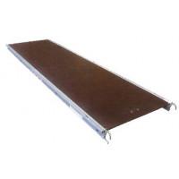 Plancher alu/bois à trappe