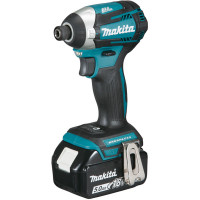 Visseuse à chocs MAKITA 18 V Li-Ion 5 Ah 175 Nm - DTD154RTJ