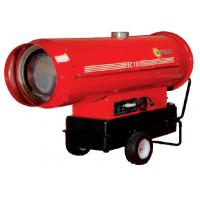 SOVELOR-Chauffage air pulsé mobile au fuel à combustion indirecte-EC110