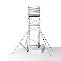 Echafaudage roulant alu FACAL - embase roulante hauteur de travail max 7 m - ALTO7