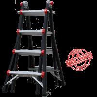 Echelle articulée télescopique Multi-fonction JAGUAR 4x4 HELDER PRO - JAG2-4x4