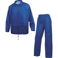 ENSEMBLE DE PLUIE 400 POLYESTER ENDUIT PVC Bleu Roi DELTA PLUS 400 - EN400BR0