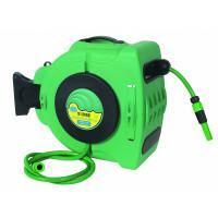 Enrouleur automatique orientable de tuyau d'eau fixation murale- 18441