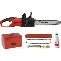 Tronçonneuse MAKITA / DOLMAR 2000 W 40 cm + kit d'accessoires -ES2141KTLC