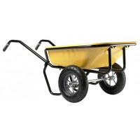Brouette Haemmerlin Pro Select Expert Twin 160 L Peinte 2 roues gonflées -306020701