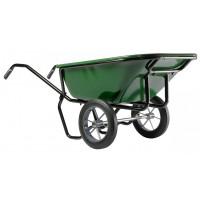 Brouette Haemmerlin Pro Select Expert Twin 230L Peinte 2 Roues Pleines-306053701