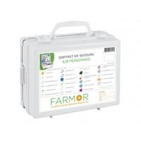 COFFRET DE SECOURS FARMOR 6/8 PERSONNES EN ABS-FAR1020PP (Premiers secours)